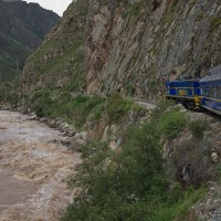 Von Cusco nach Aguas Caliente in Peru 2016