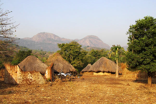 Dorf in Faranah - Guinea © by horas