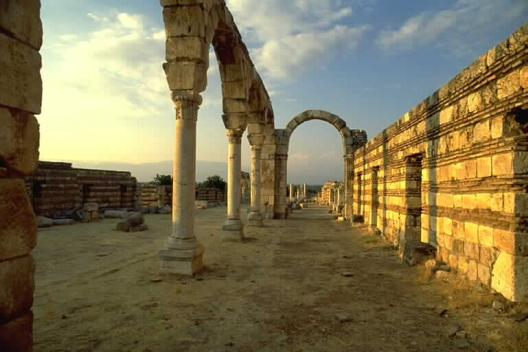 Anjar - Copyright of the Ministry of Tourism, Lebanon