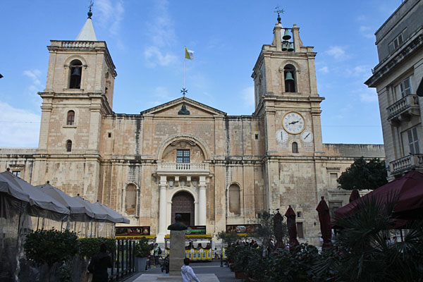 St. John´s Co-Cathedral in Valetta